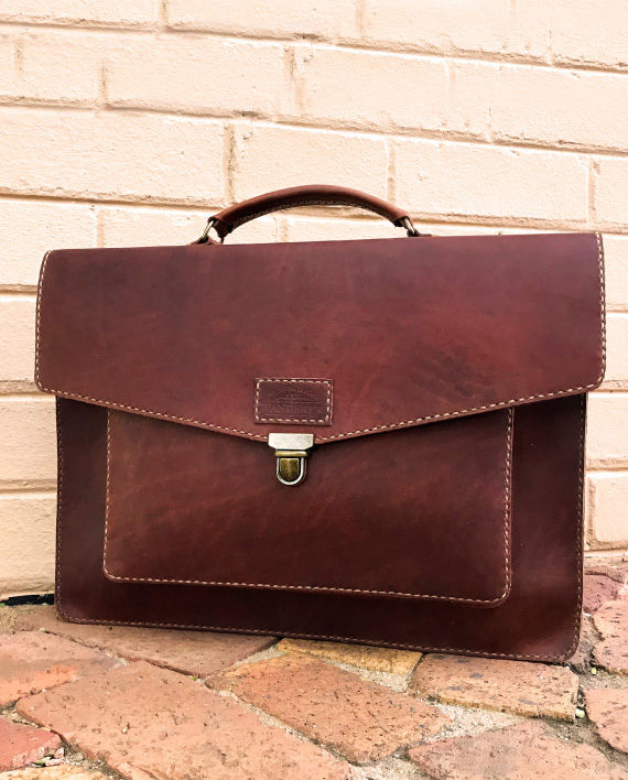 Hudson Leather Bag Hand Stitched by Wanderer Handcrafted