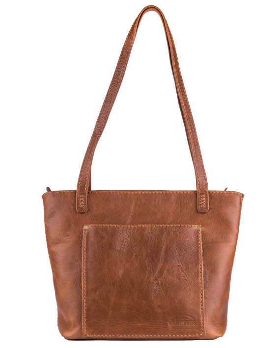 Lilah Leather Handbag by Wanderer Handcrafted Leather