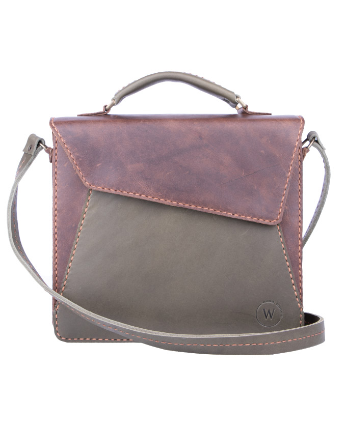 Talita Olive By Waderer Handcrafted Leather